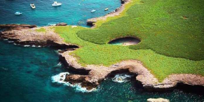 Cuál es el origen de Islas Marietas