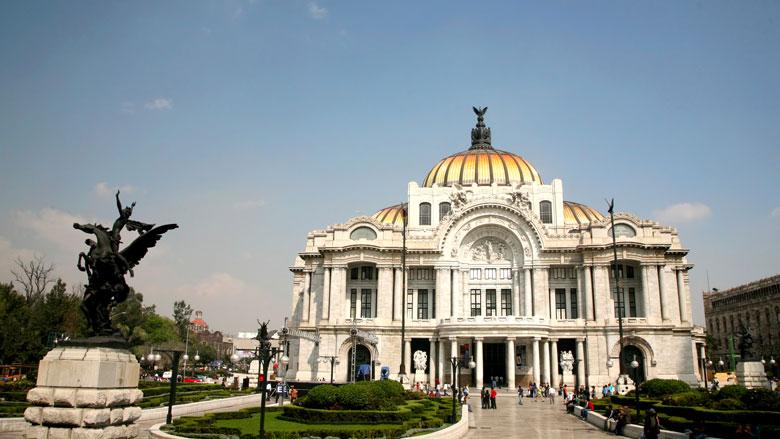 Ver una ópera en el Palacio de Bellas Artes