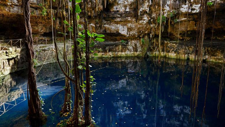 Cenote San Lorenzo Oxman, Valladolid