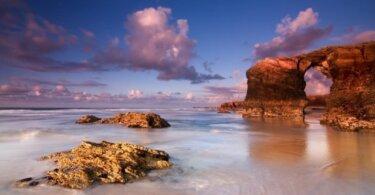 playa de las catedrales mareas