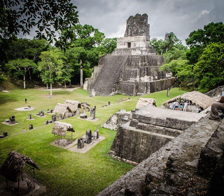 las ruinas Mayas