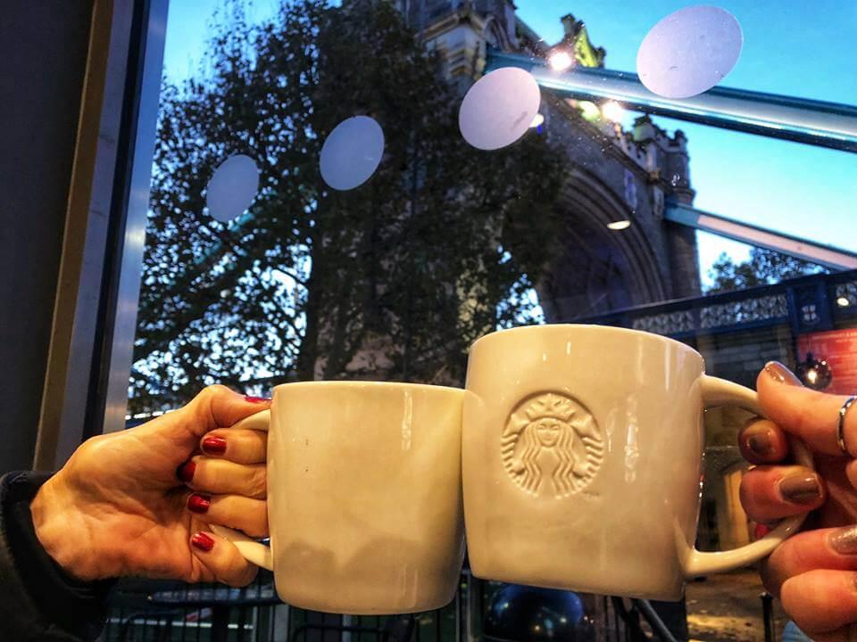 Primera vez en Londres Starbucks
