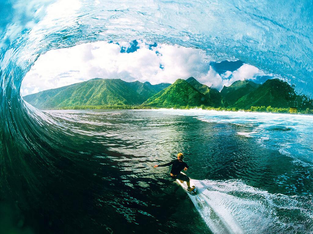 Los 9 destinos más locos de surf de olas grandes # 4 | Bayas cerebrales