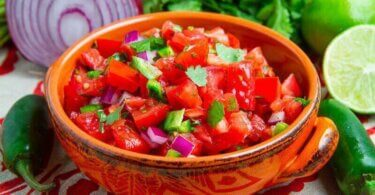pico de gallo receta mexicana
