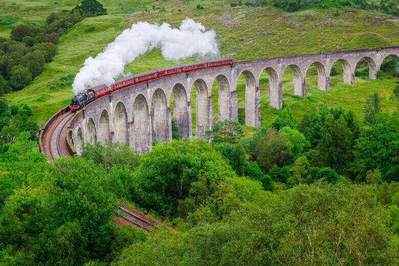 Tren Jacobit, Escocia
