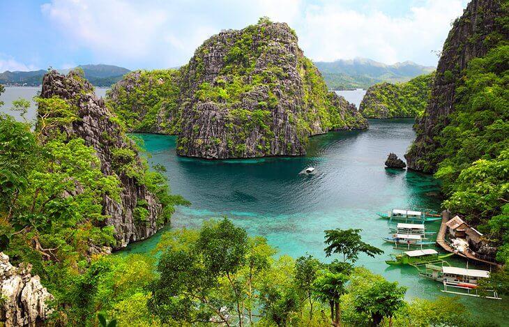 Palawan Filipinas islas bonitas