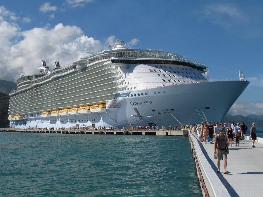El crucero Oasis of the Seas