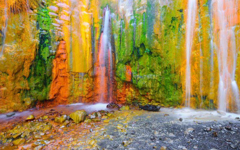 Cascada de Colores 1