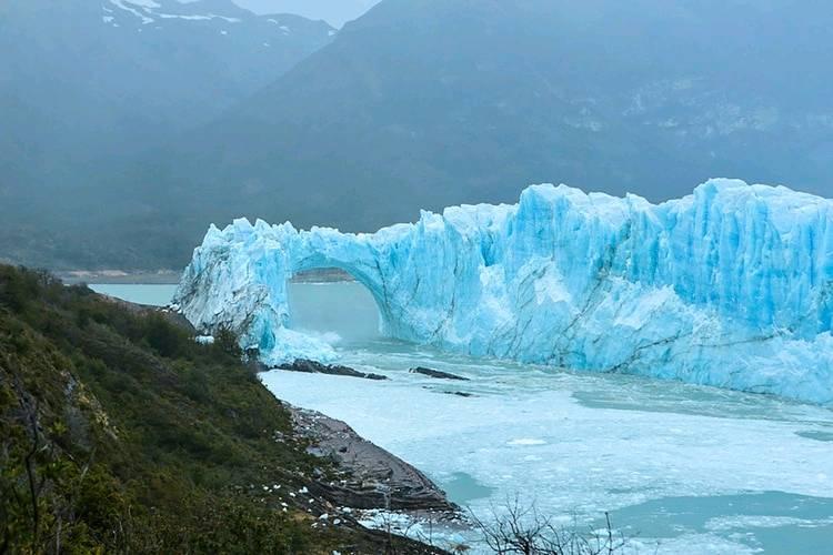 Glaciar Athabasca canada