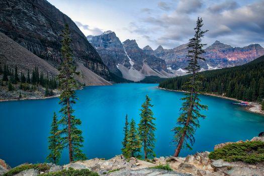 Lago Moraine, Alberta
