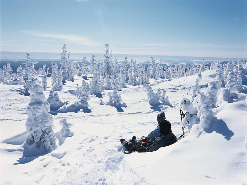 Les monts Valin, Quebec
