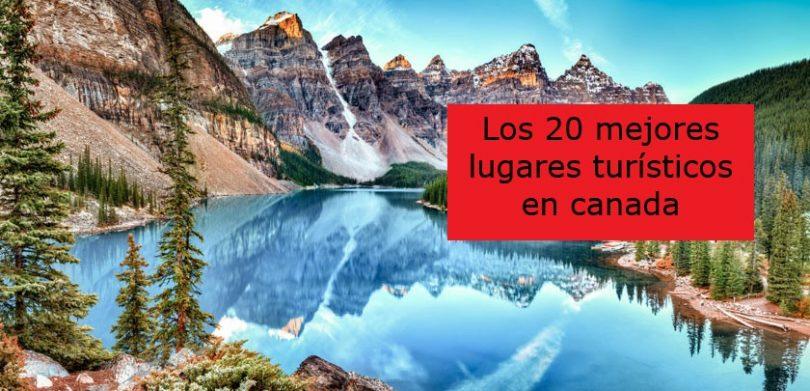 lugares turisticos en canada