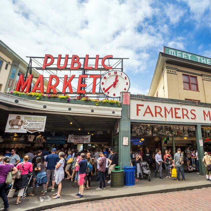 Pike Place Market en Seattle