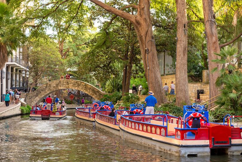 River Walk en San Antonio