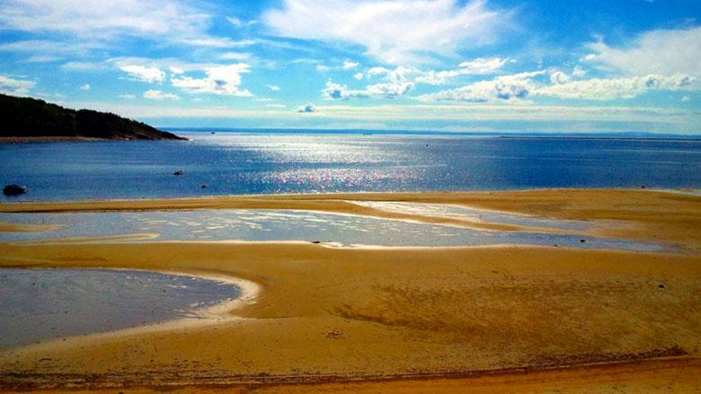 Playa de Tadoussac, North Shore