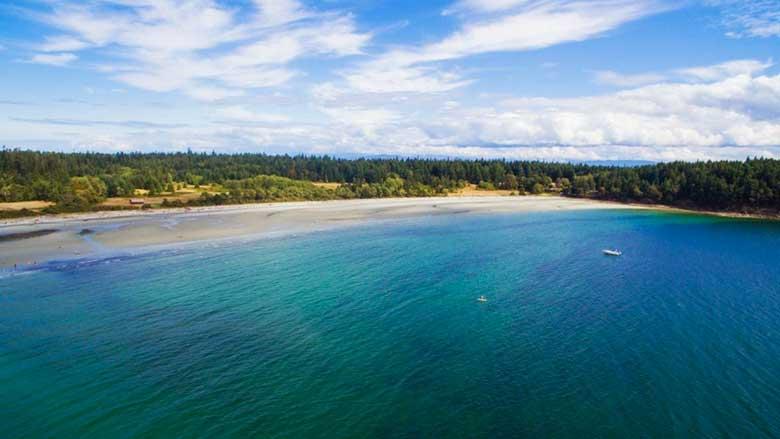 Tribune Bay, Columbia Británica