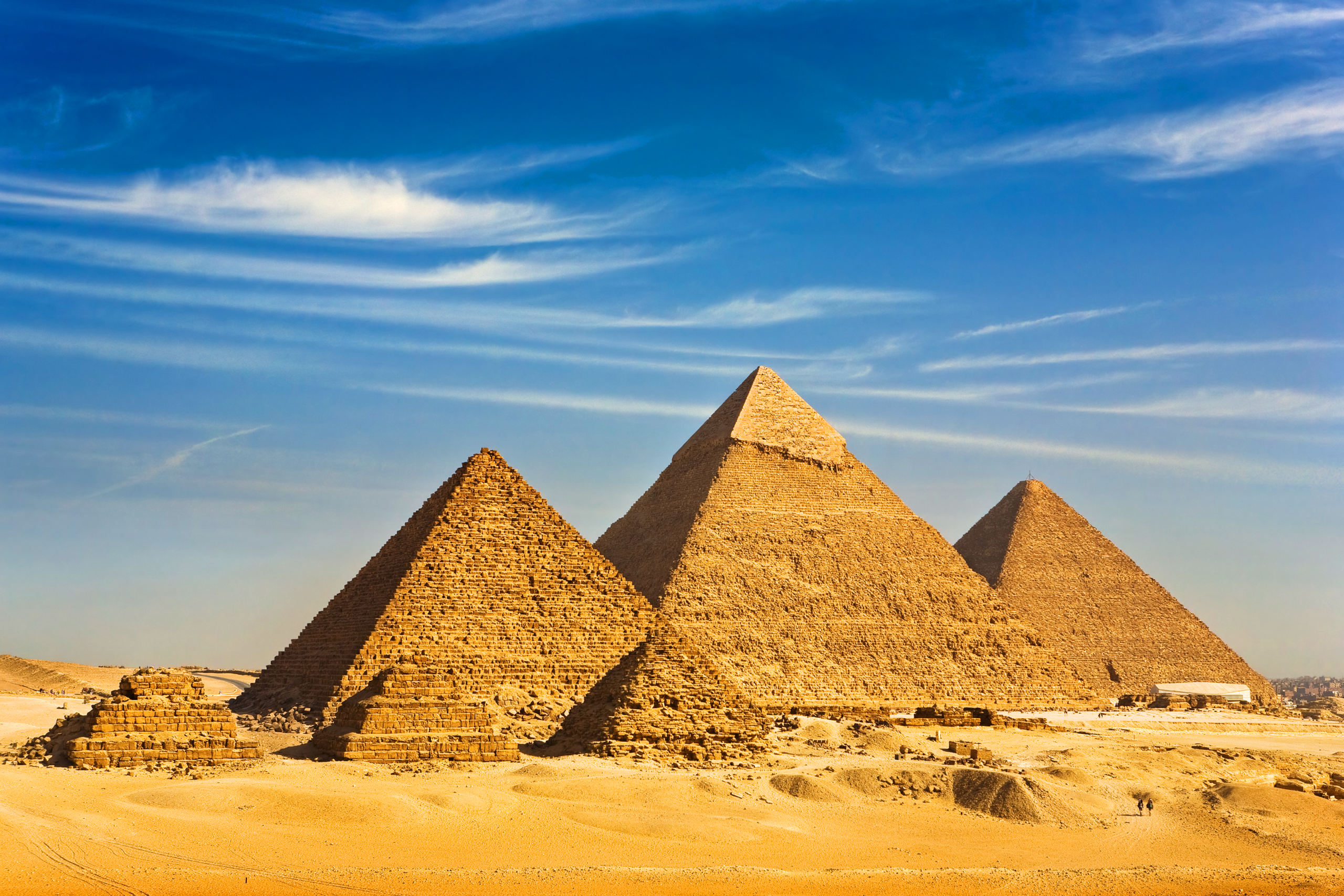 Las pirámides de Giza - Egipto