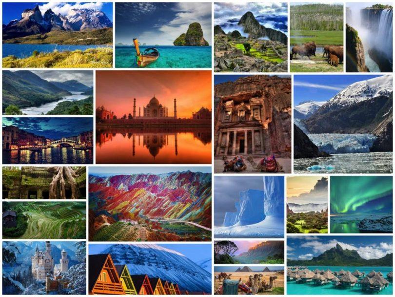 Los lugares mas lindos del mundo